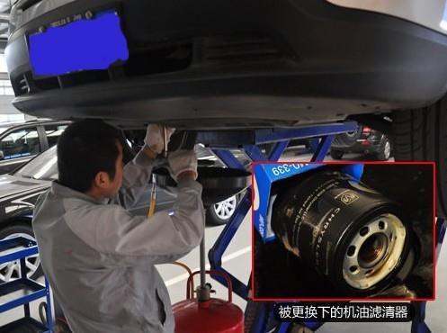 机油滤清器和汽车发动机的重要关系高清图片