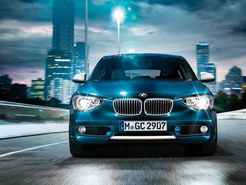 BMW 1系运动型两厢轿车 悦之相对论 -宝马1系