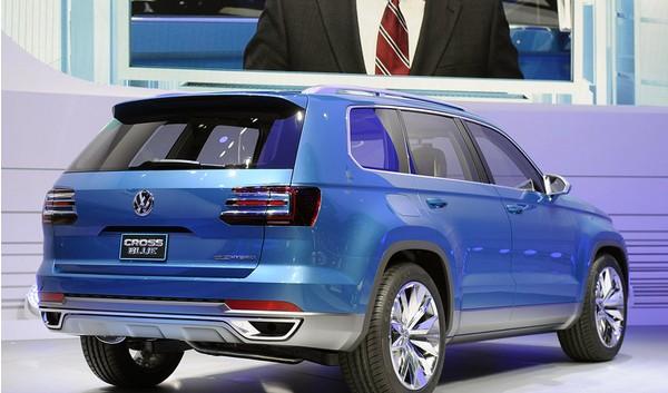 大众7座SUV新消息曝光 由上海大众国产高清图片