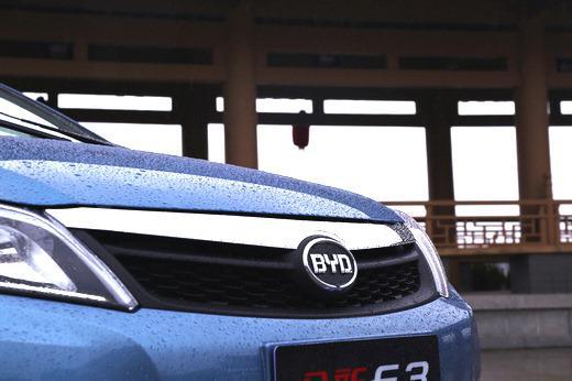 新一代国民车人民网试驾全新比亚迪F3高清图片