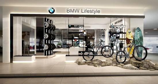 而店中店的模式,也是bmw在售后领域的一大精彩亮点,为客户提供了一个图片
