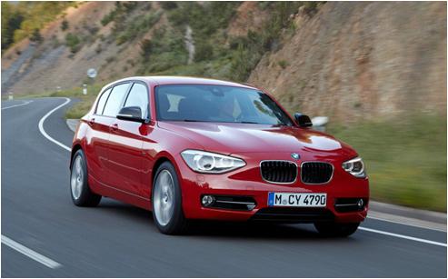 BMW1系运动型两厢轿车 一步一天地 -宝马1系