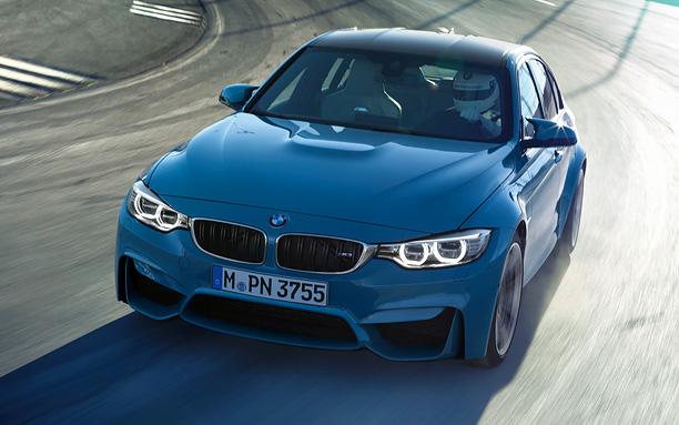 【全新BMW M3轿跑车】-全新BMWM系轿跑车强势登陆中国市场高清图片