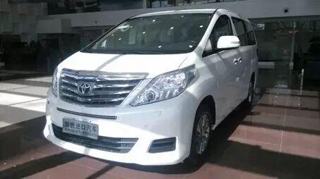 丰田阿尔法商务车 现车销售 售价72万元高清图片