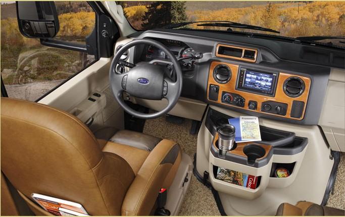 福特e450房车驾驶舱图片图片
