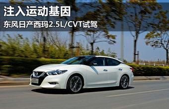 东风日产西玛2.5L/CVT试驾