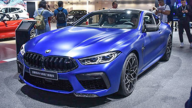 M-Power机皇 BMW M8雷霆版实拍