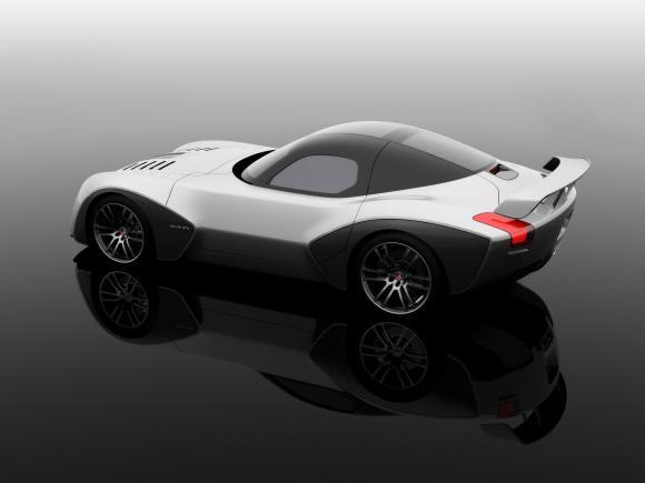 2010白色的高清壁纸~~ devon gtx道奇蝰蛇超级跑车.喜欢啊