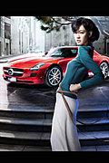 气质美女模特李艾