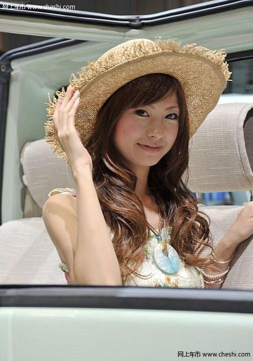 日本情色ddd42_和情色不沾边 东京车展清纯靓丽日本车模