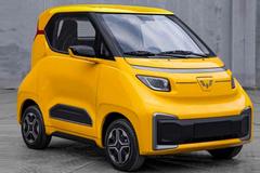 五菱新电动车5天后亮相 比宏光MINIEV小 或5万起售