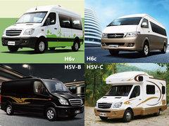 车型更加多样化 海格发布四款轻客新品