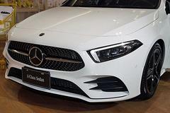 奔驰A级双门轿跑版曝光 搭2.0T引擎/配无框车门