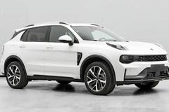 新款领克01插混SUV实拍图 尺寸加长换新外观