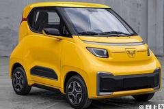 宝骏E200换标五菱销售!比MINI EV小 售价高2万元