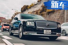 丰田旗舰级轿车街拍!配V8混动引擎/竞争奔驰S级