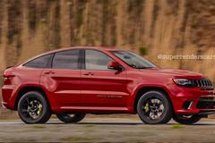 Jeep大切诺基轿跑版曝光 溜背车身设计/外观酷似X6
