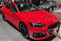 奥迪新款RS 5 Sportback亮相 外观设计更凶悍