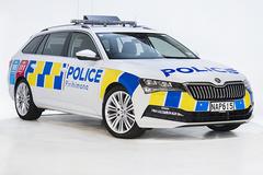 斯柯达推出警车版速派!搭全新涂装/配2.0T引擎