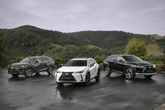 雷克萨斯推三款新车型 黑色格栅/配驾驶辅助系统