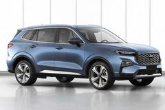 江铃福特全新SUV实拍 动力升级 外观更偏运动化