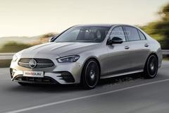 奔驰国产新C级实车曝光 尺寸大幅加长 取消2.0T