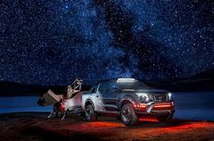 日产纳瓦拉Dark Sky版国内亮相  配2.3T动力及专属拖车