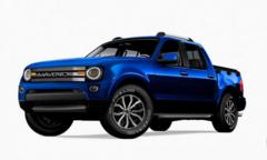 福特翼虎皮卡,2.0T+8AT,起售价低于2万美元